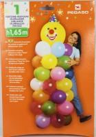 Gummiballon-Set für Clownfigur